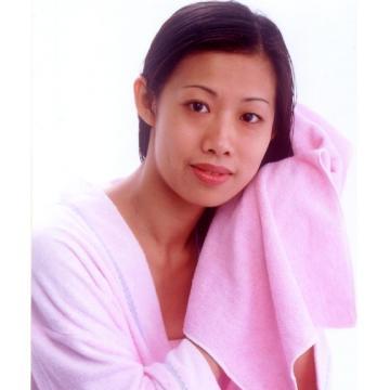 柔軟毛巾護髮巾