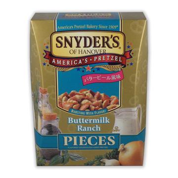 《史耐德Snyder's》蝴蝶碎餅(田園奶酪,250g精美盒裝)