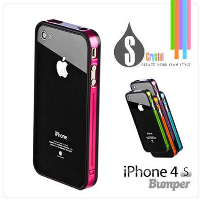 iPhone4S專用晶彩保護邊框