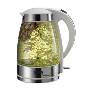 《新格牌》花茶玻璃電茶壺1.7L ((SEK-1706ST))