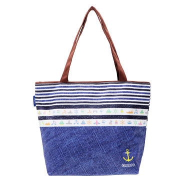 【Coplay設計包】牛仔海洋風|托特包