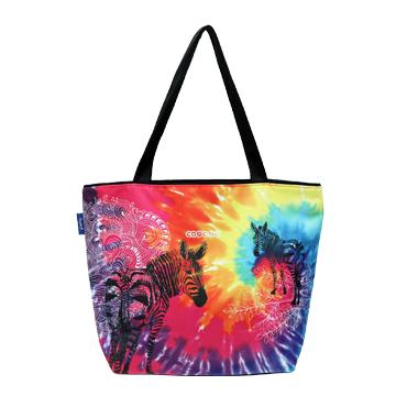 【Coplay設計包】絢麗斑馬|托特包