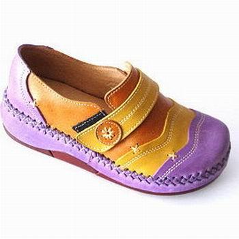 (e鞋院)【紫色童話】平底娃娃包鞋<純正牛皮> ~台灣好鞋~