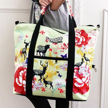 【Coplay設計包】台灣油桐花印象|旅行袋