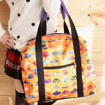 【Coplay設計包】帽子派對橘|旅行袋