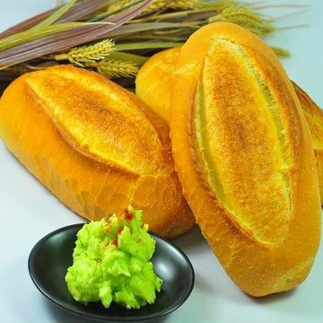 一森手工烘焙坊☆法國麵包*3入附香蒜醬