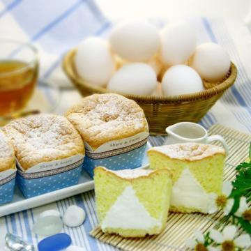<自然捲烘焙>北海道牛奶雪杯