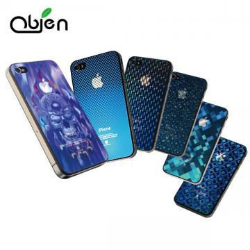 OBIEN iPhone4/4S 3D藍光立體保護膜組 (前+後貼)