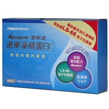 遠東生技Apogen藻精蛋白顆粒(2g/30包) 藻精蛋白/藻藍蛋白