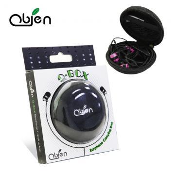 OBIEN Q-BOX 高級耳機收納盒 (不含耳機等內容物僅耳機收納盒)