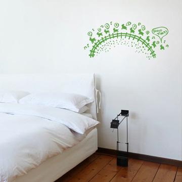 【Smart Design】創意無痕壁貼◆數羊 8色可選