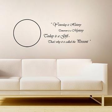 【Smart Design】創意無痕壁貼◆把握今天 8色可選