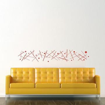 【Smart Design】創意無痕壁貼◆點與線