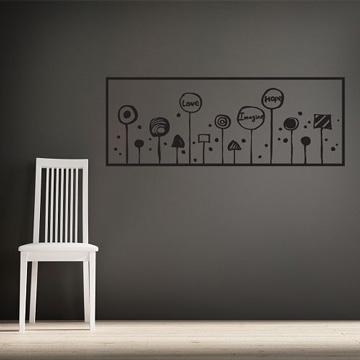 【Smart Design】創意無痕壁貼◆希望樹 8色可選