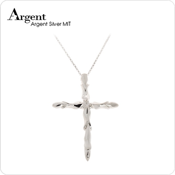 ARGENT銀飾 十字架造型系列 贖罪 純銀項鍊