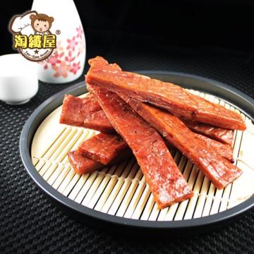 【淘纖屋】蜜汁厚燒霜降豬肉條(150g/包)