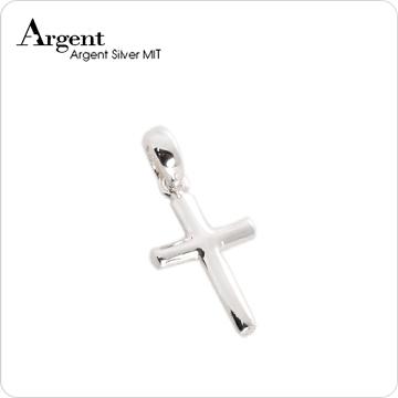 ARGENT銀飾 十字架系列 圓柱十字架(小) 純銀項鍊