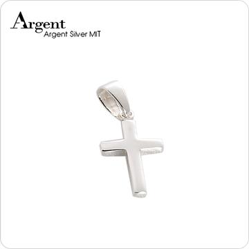 ARGENT銀飾 十字架系列 方柱十字架(小)純銀項鍊