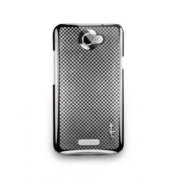HTC One X -Matrix Series-保護背蓋-深灰色