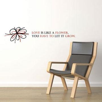 【Smart Design】創意無痕壁貼◆愛像小花