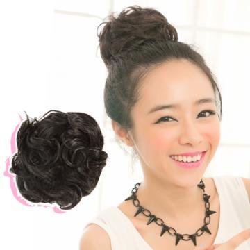 【DH50】道姑丸子頭髮包捲髮
