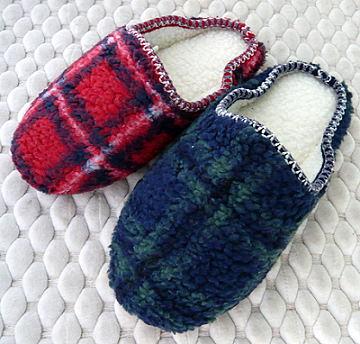 (e鞋院) [暖融融]麂皮毛織室內拖鞋(任選2雙)