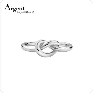 【ARGENT銀飾】造型系列「結」純銀戒指