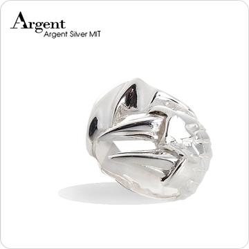 【ARGENT銀飾】動物系列「龍爪(大) 」純銀戒指(無染黑款)