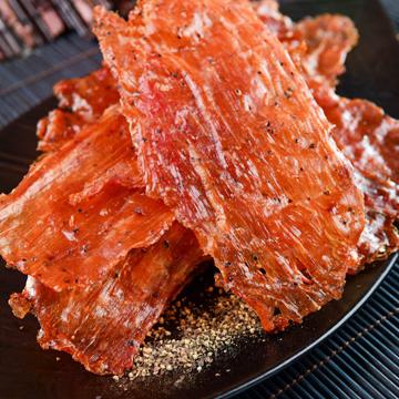 黑胡椒豬肉紙 (有嚼勁) 【隨手輕巧包】