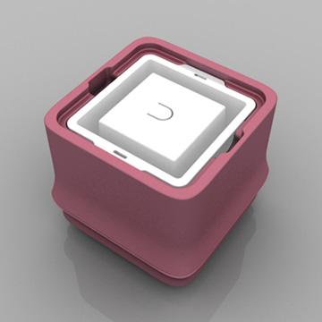 POLAR ICE 極地冰盒二代新色-粉紅色(正方形)