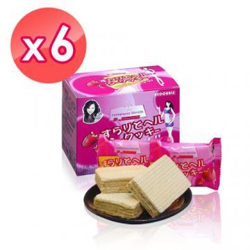 【伊仕媚】暢纖威化餅 (6包/盒*6盒入)