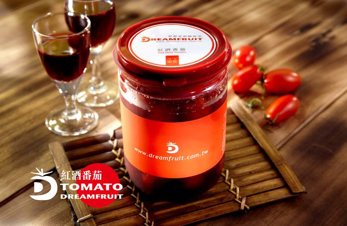 夢想果紅酒番茄PET罐裝