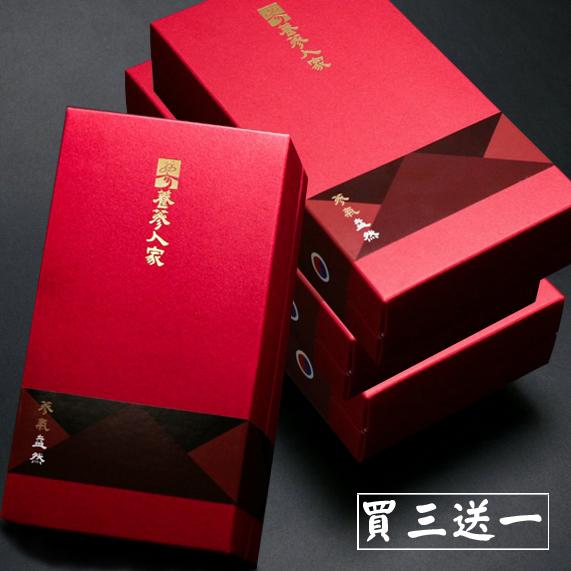 <b><font color=red>【養蔘人家】韓國鮮採蔘禮盒‧蔘氣盎然﹝150克/盒,共四盒入﹞