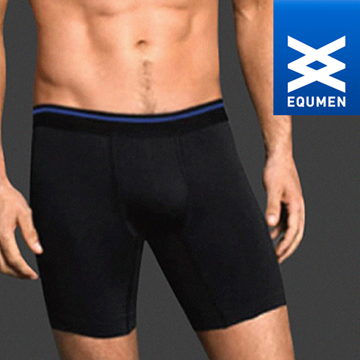 澳洲進口 EQUMEN 男性時尚長提臀塑身褲[黑][免運費]