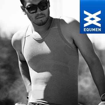 澳洲進口 EQUMEN 男性時尚汗衫塑身衣[灰][免運費]