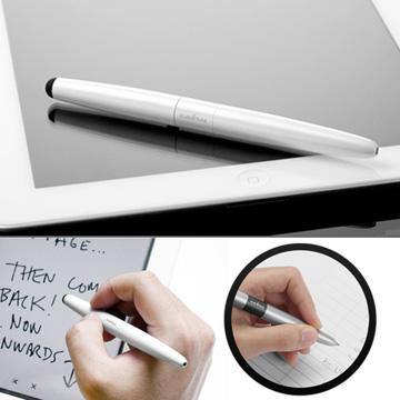 cubiii - Oval Pen 雙用觸控筆-珍珠白