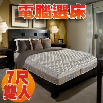 【睡眠達人SL0099】國家專利,超彈力綿,左右兩邊不同硬度,特大雙人,MIT ★贈送枕頭二個★