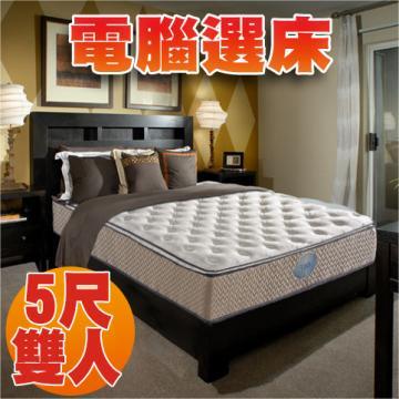【睡眠達人SL5203】國家專利,獨立筒床墊,比利時乳膠,Q彈,標準雙人,MIT★贈送枕頭二個★