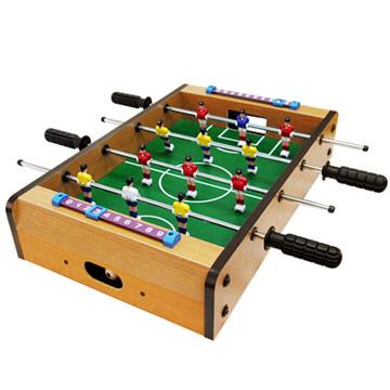 瘋世足桌上型木製手足球台