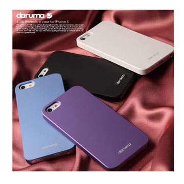 -Silk iPhone5 絲緞般光澤柔嫩觸感保護殼
