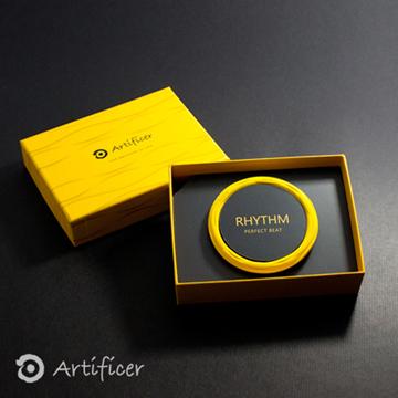 【Artificer】 RHYTHM 節奏手環-黃色(M-18公分)