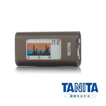 日本【TANITA】三軸感應活動量計(鐵灰色) AM121E