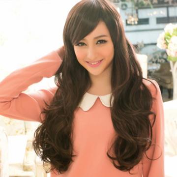 【MA029】耐熱纖維-芭莉絲感‧歐美名媛長捲髮型