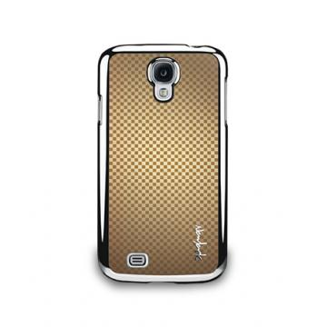 Galaxy S4- 金屬色澤保護背蓋- 香檳色