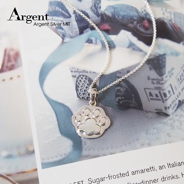 【ARGENT銀飾】動物系列「貓掌(大)」純銀項鍊