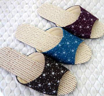 (e鞋院) 【星空滿點】紙蓆室內拖鞋