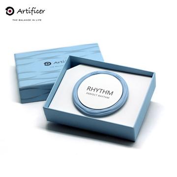 【Artificer】 RHYTHM 節奏手環-粉藍色(M-18公分)