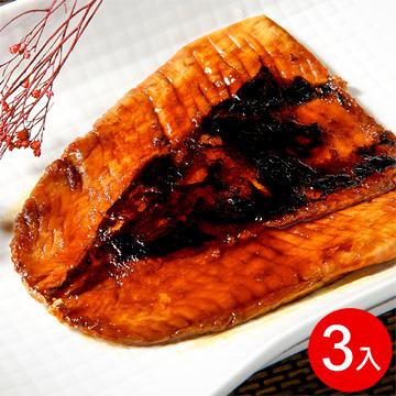 【府城館】去刺蒲燒虱目魚魚肚(3入/盒)