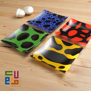 【U-CUBE】雨林寶石彩盤