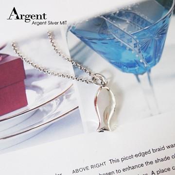 【ARGENT銀飾】動物系列「哨子魚」純銀項鍊(可吹出哨音)